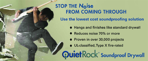 QuietRock Soundproof Drywall | American Lumber
